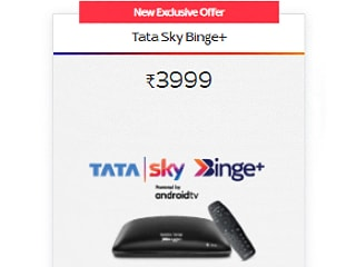 Tata Sky Binge+ Price in India Cut by Rs. 2,000 for New and Existing Customers