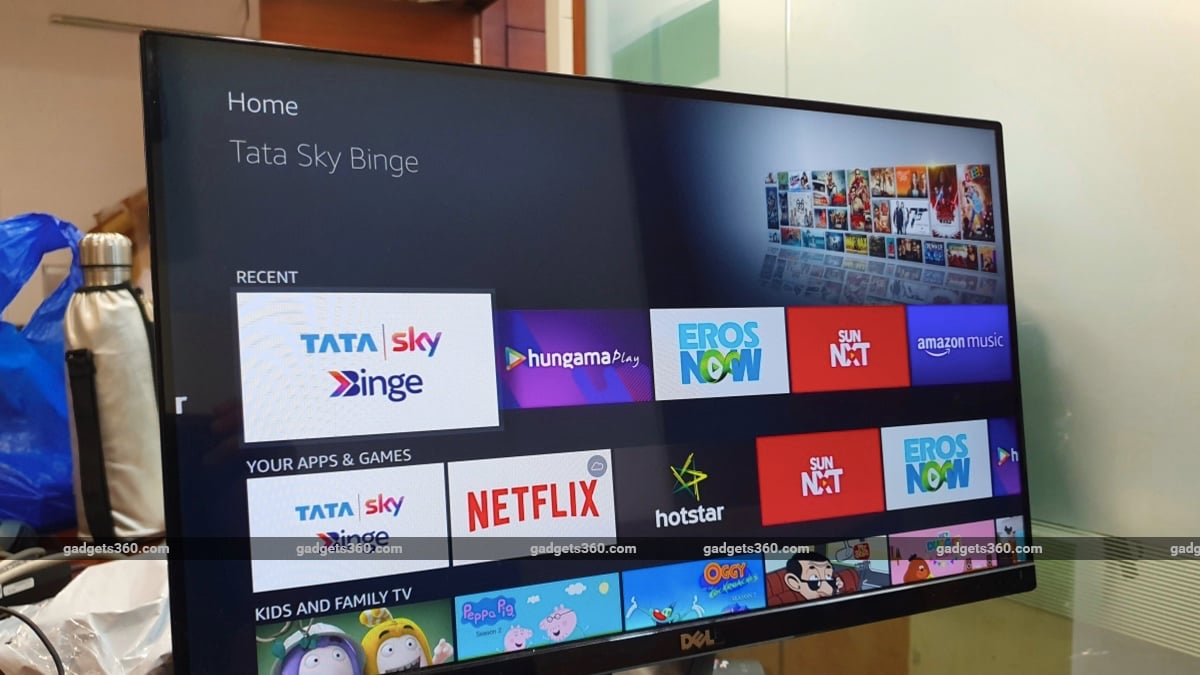 Tata Sky Binge Review: 5 Streaming Services in One for a Single Monthly Fee