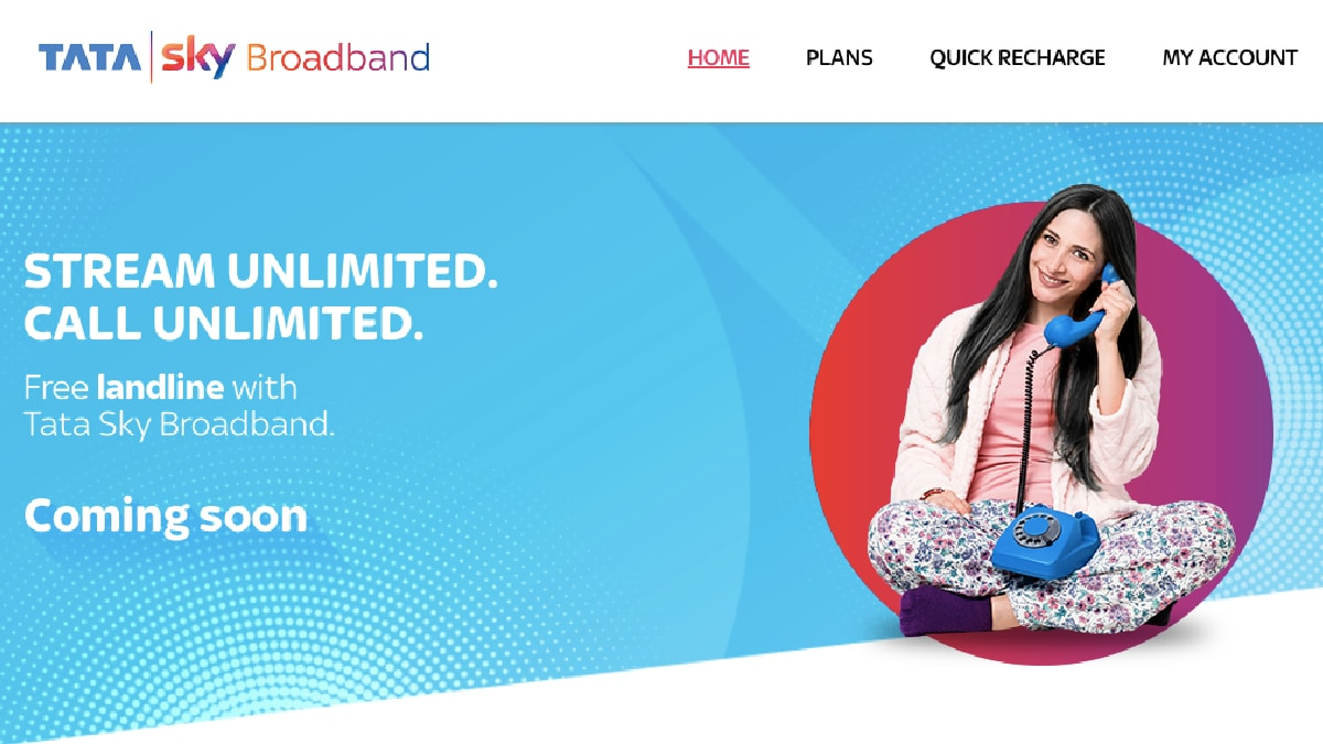 Tata Sky Broadband to Offer Free Landline Service With Unlimited Voice Calling Soon