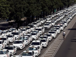 Uber: Spain Taxi Strike Against Ride-Hailing Services to Continue