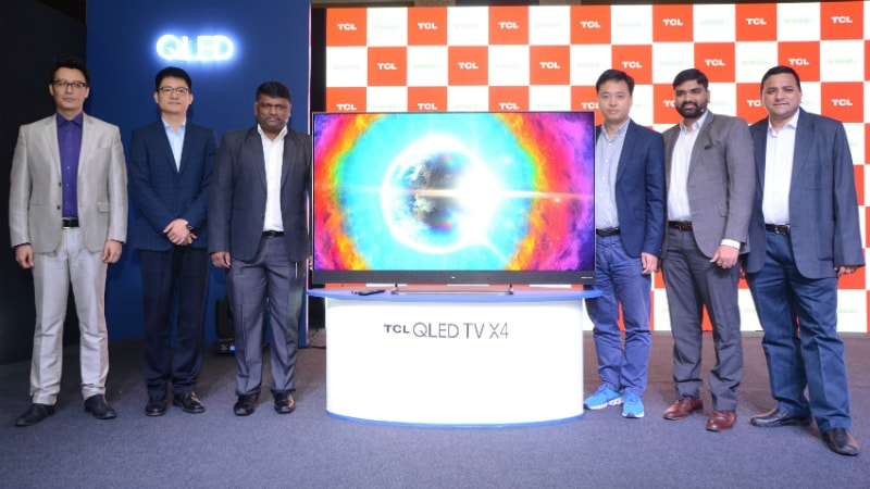 TCL 65X4 With 4K UHD Display, Android Nougat Launched in India; S6500 Series Announced