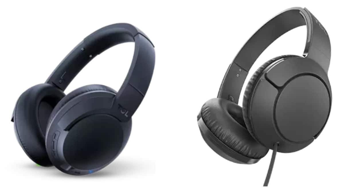tcl headphones main TCL ELIT400NC and TCL MTRO200