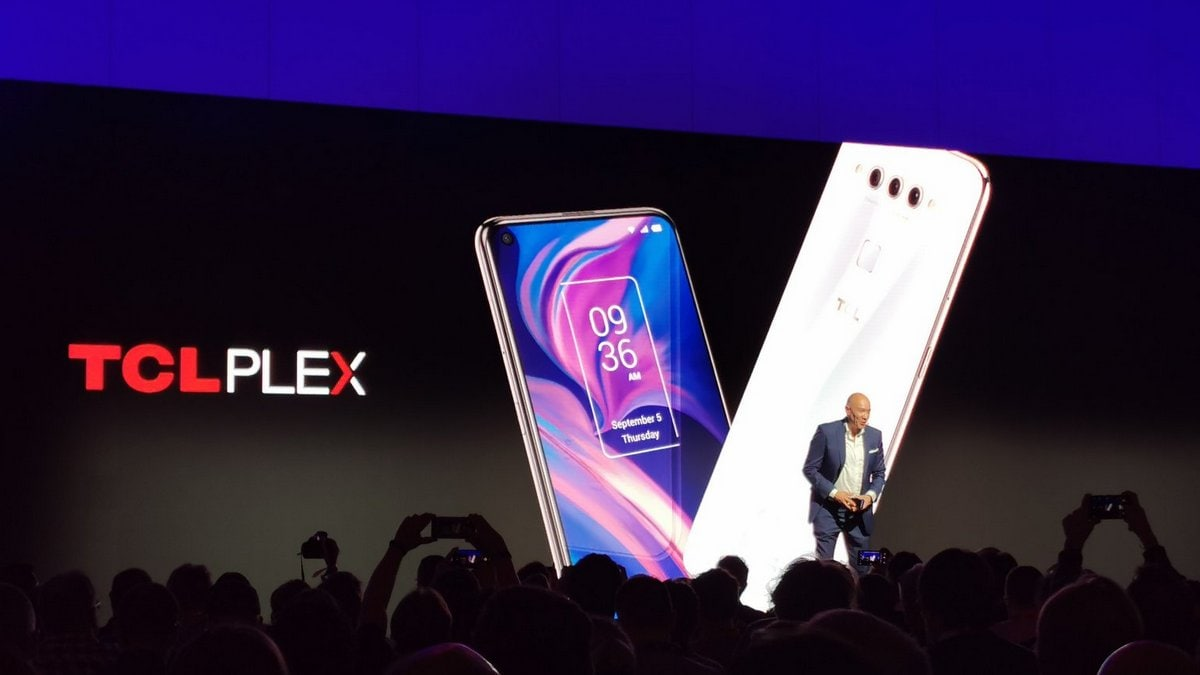TCL Plex With Triple Rear Cameras, Nxtvision Display Launched at IFA 2019: Price, Specifications