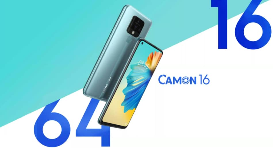 Tecno Camon 16 to Launch in India on October 10, 64-Megapixel Quad Camera Teased