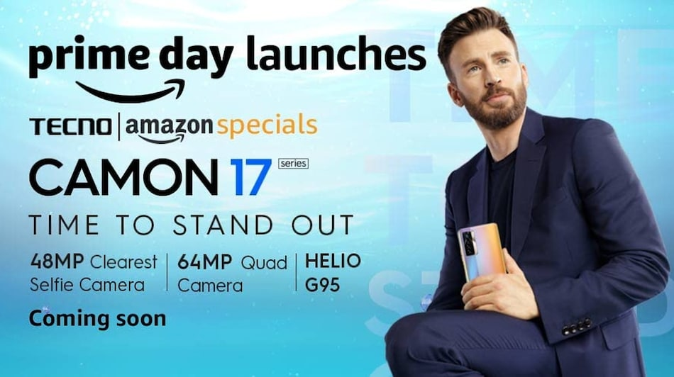 Tecno Camon 17 Series Teased to Launch in India Soon, Amazon Availability Confirmed