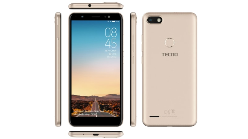 Tecno Camon i Sky With Face Unlock Feature Launched in India: Price, Specifications