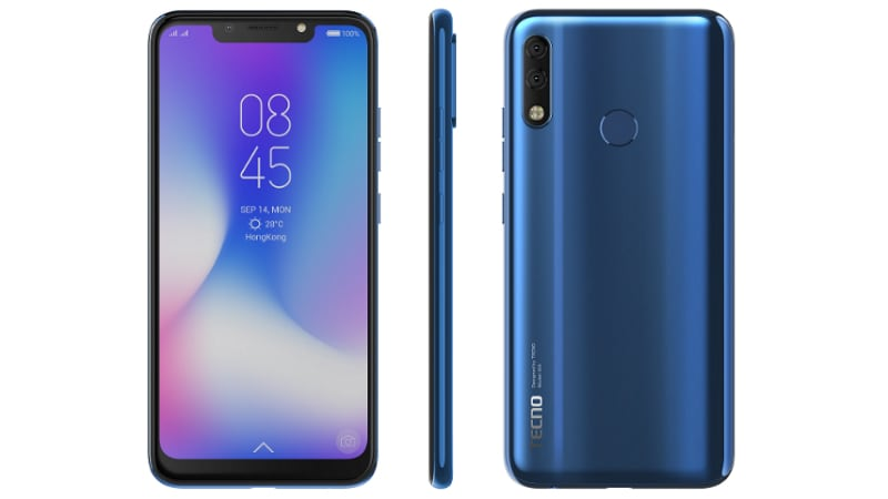 Tecno Camon Iclick2 With a 19:9 Display, Dual Rear Cameras Launched: Price, Specifications, Features