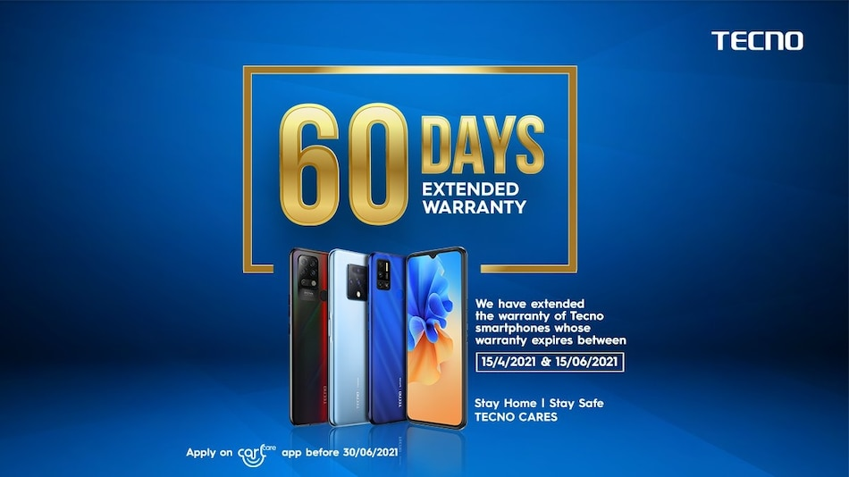 Transsion India Is Providing 60 Days Extended Warranty on Tecno and Itel Mobile Phones
