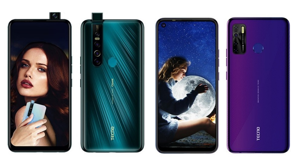 Tecno Camon 15, Camon 15 Pro With Quad Rear Cameras Launched in India: Price, Specifications