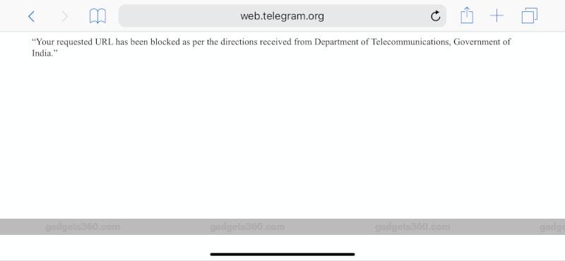 Jio Seen Blocking Access to Telegram Website in India | Technology News