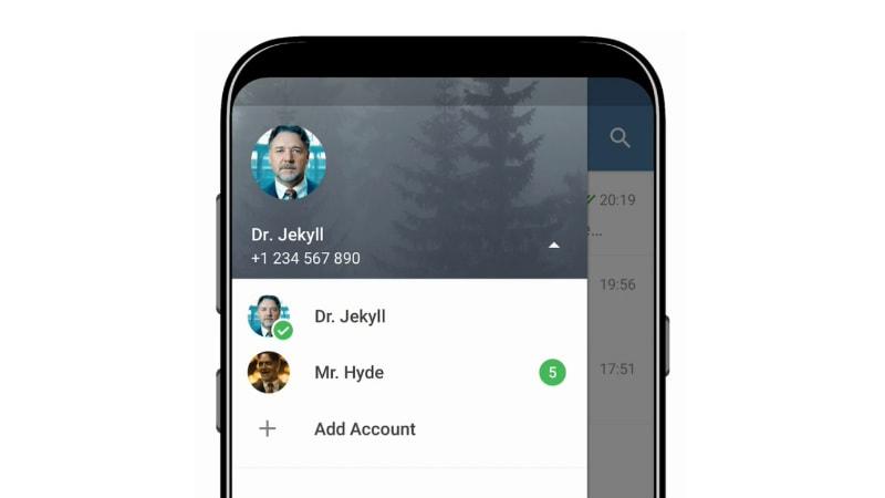 telegram mutliple account support Telegram multiple accounts  telegram
