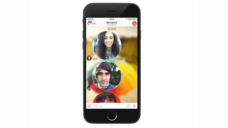 Telegram adds video messages and public 'Telescope' videos