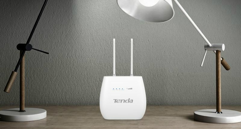 Tenda 4G680 300Mbps Wireless 4G LTE, VoLTE Router Launched in India