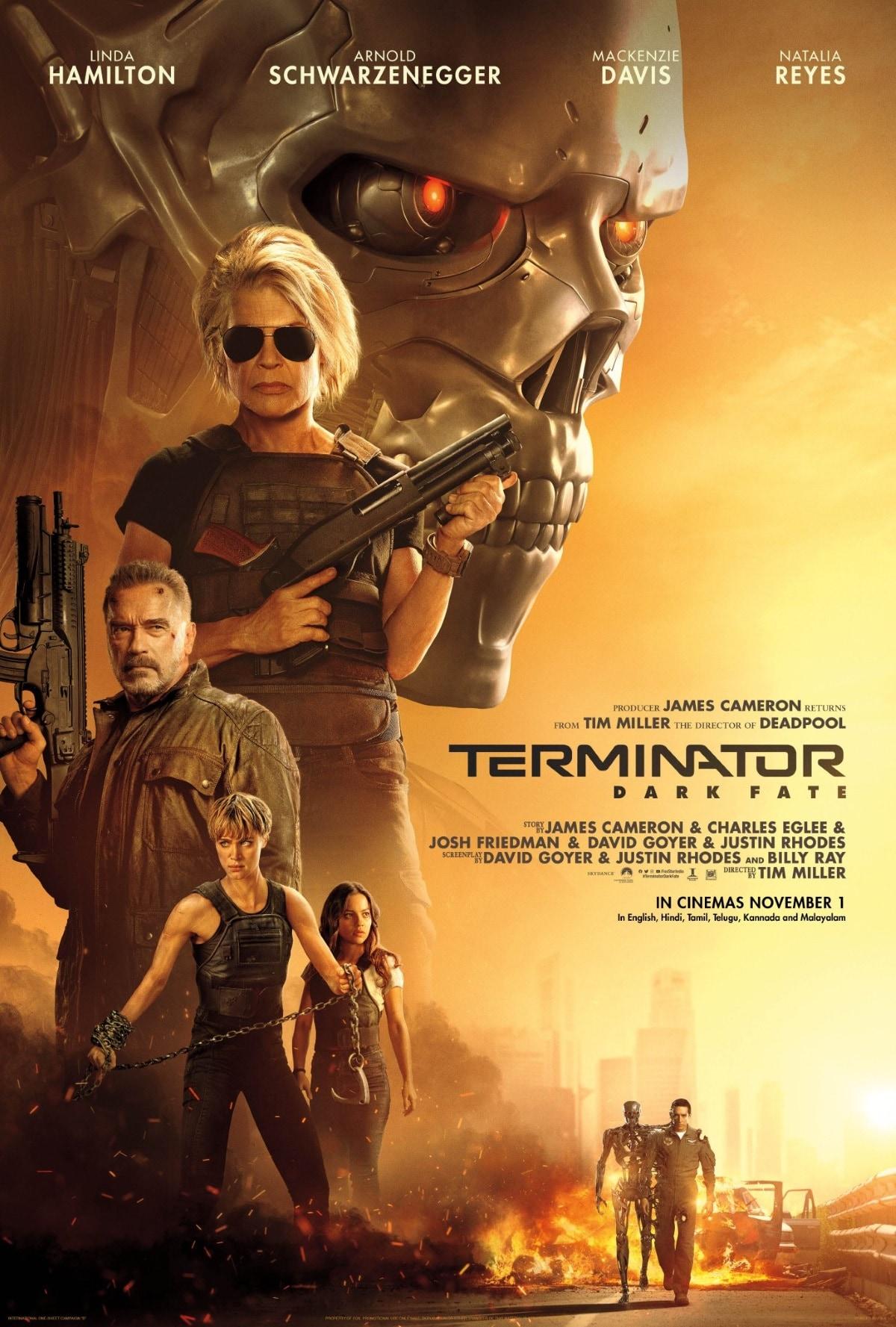 terminator dark fate poster Terminator Dark Fate
