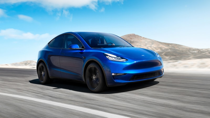 Tesla Model Y SUV Crossover Unveiled, Starts at $39,000
