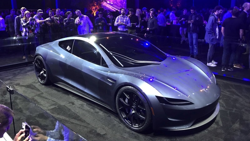 Tesla Roadster Unveiled, Claimed to Be Fastest Production Car Ever