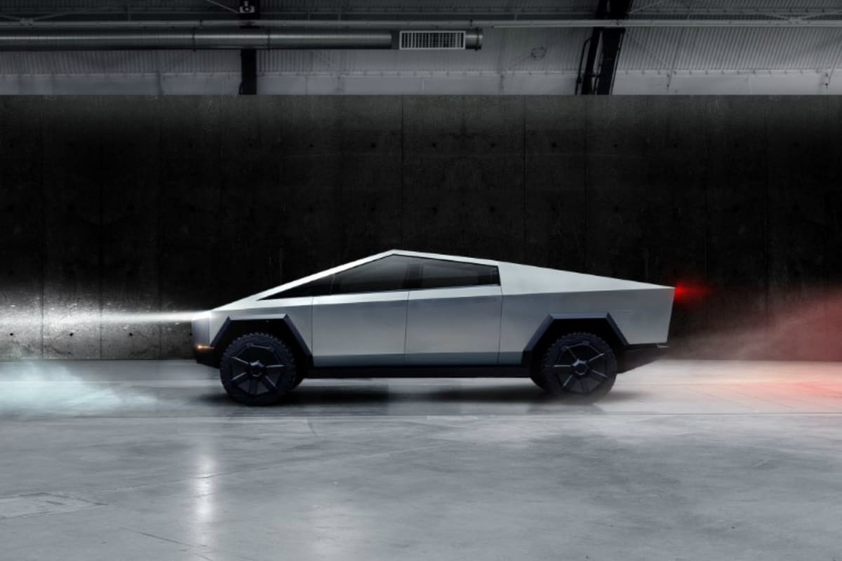 Tesla Cybertruck Unveiled, the Company's First Electric Pickup Truck
