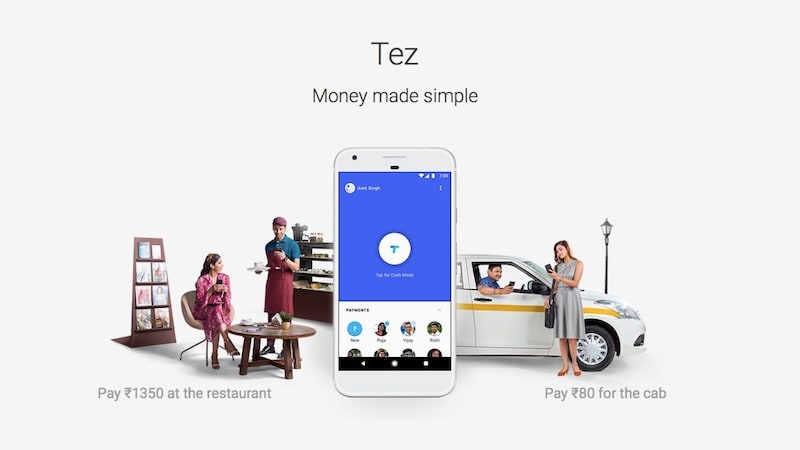 Google Tez UPI-Based Digital Payments App Launched in India