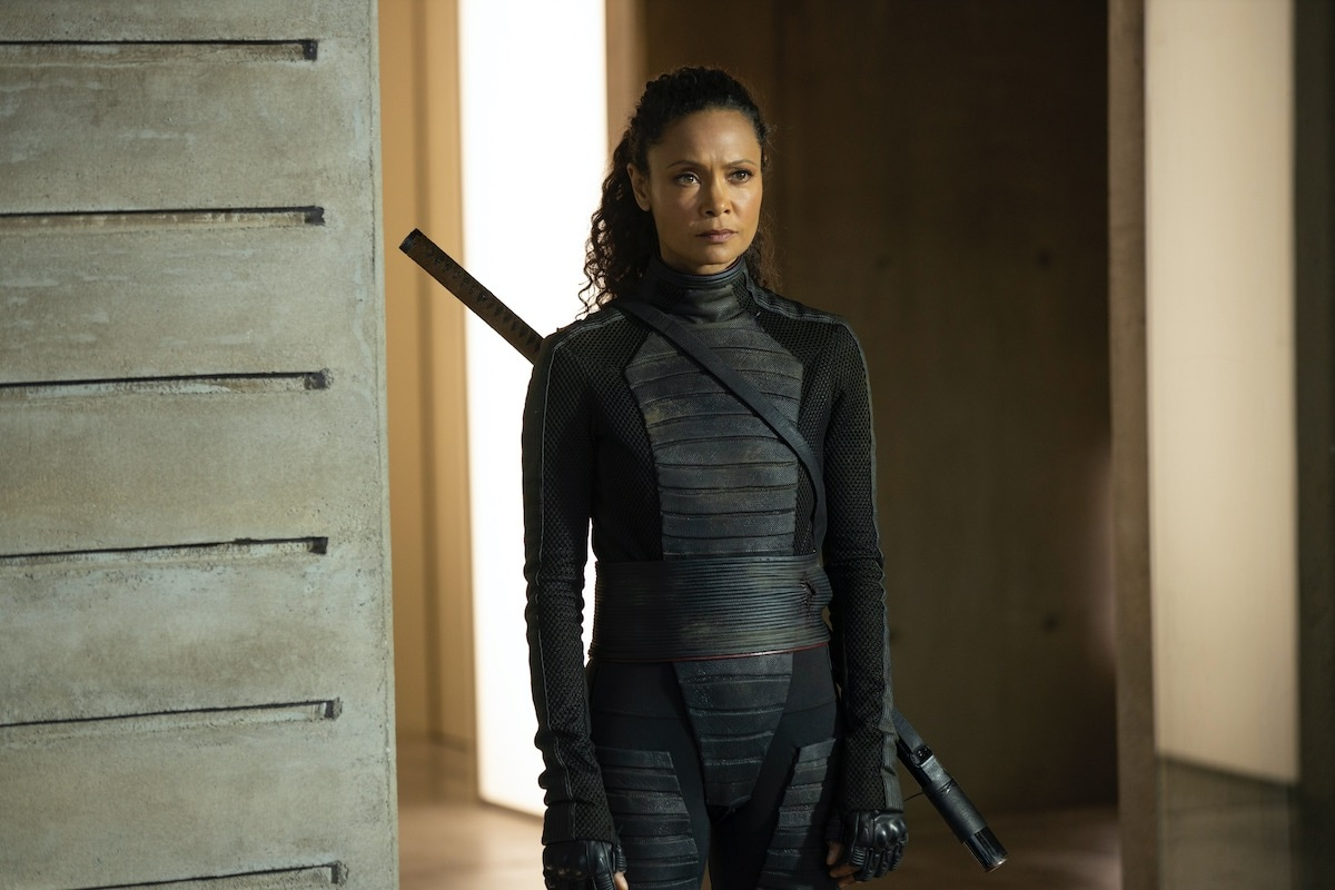 thandie newton Maeve Westworld season 3 episode 8