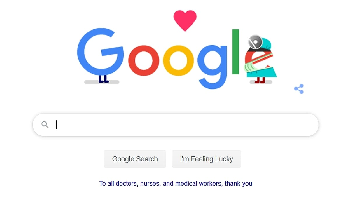 Thank You Coronavirus Helpers: Google's Latest Doodle in India Thanks Healthcare Workers