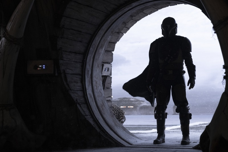 The Mandalorian — Logo, First-Look Photos of Live-Action Star Wars Series