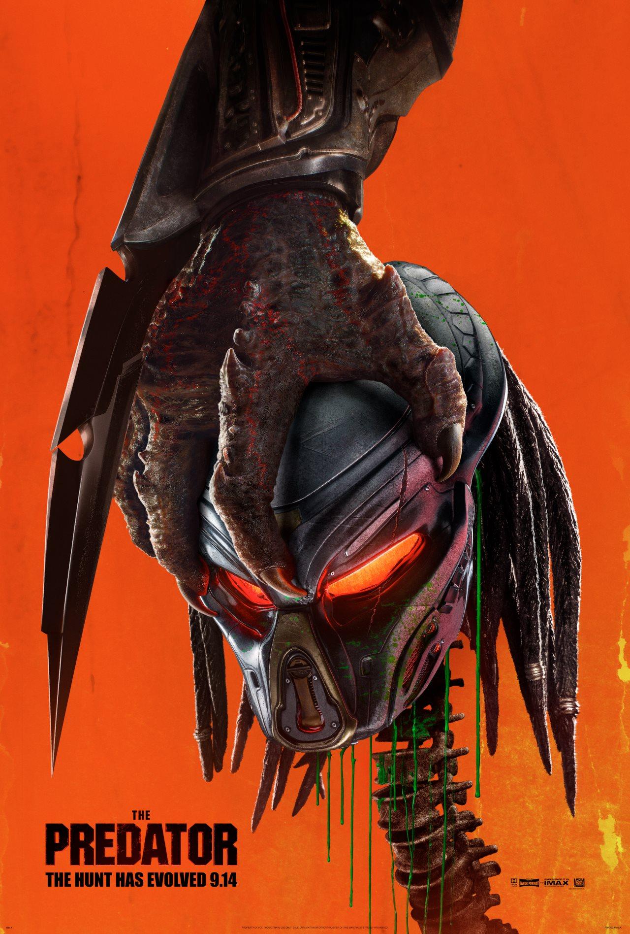 the predator poster The Predator