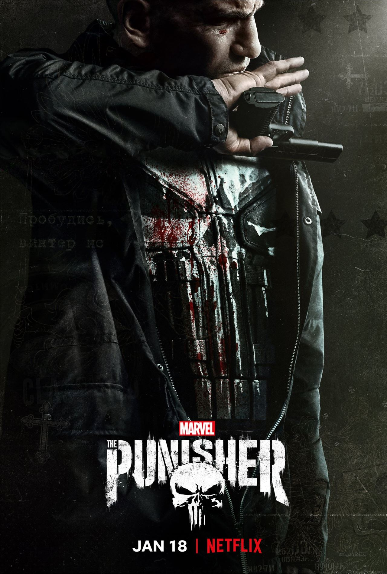 the punisher season 2 poster frank castle The Punisher season 2