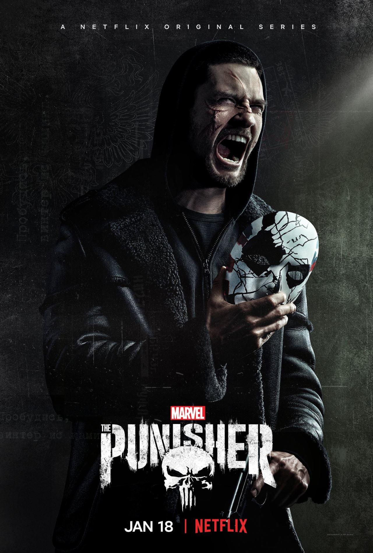 the punisher season 2 poster jigsaw The Punisher season 2