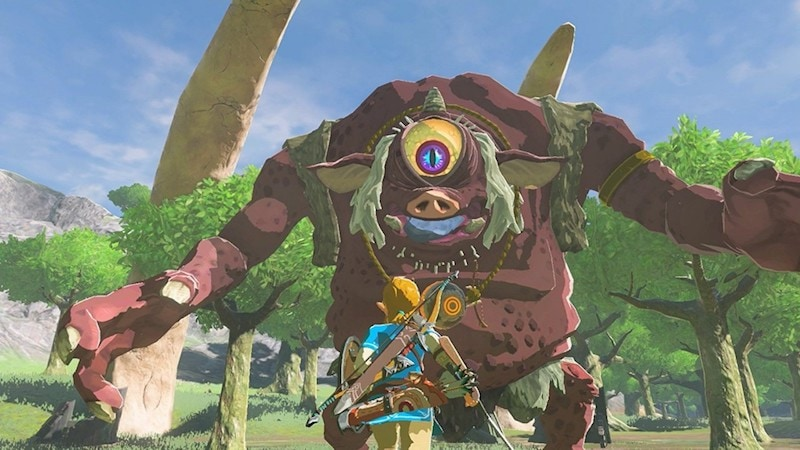the Legend of zelda botw cyclops legend_zelda_botw