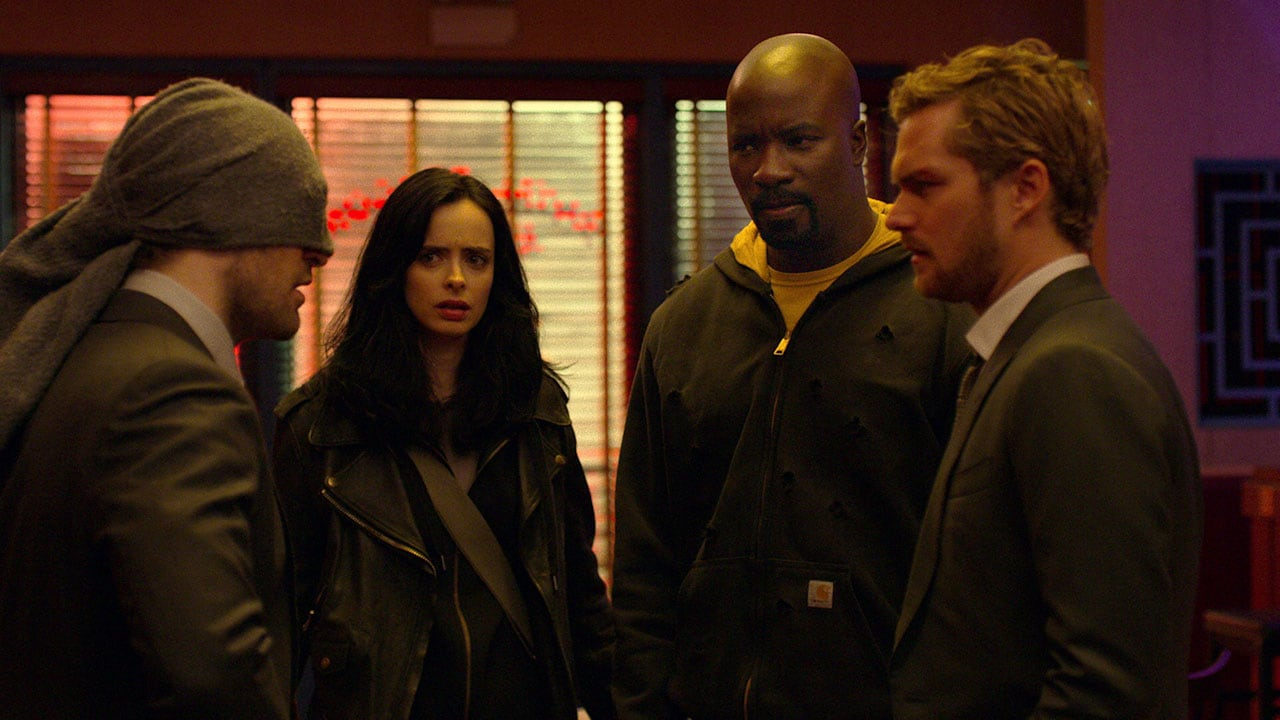 the defenders all four The Defenders Marvel