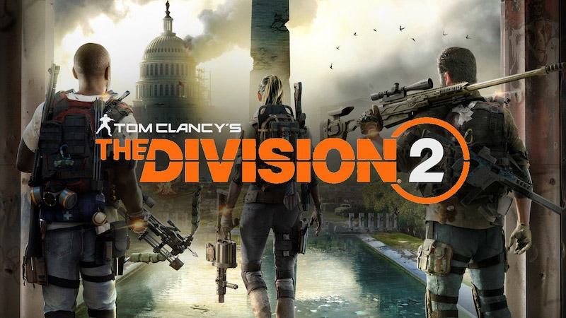 Image result for The Division 2  video game cover