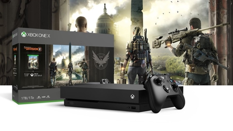 The Division 2 Xbox One S, X Bundles Announced