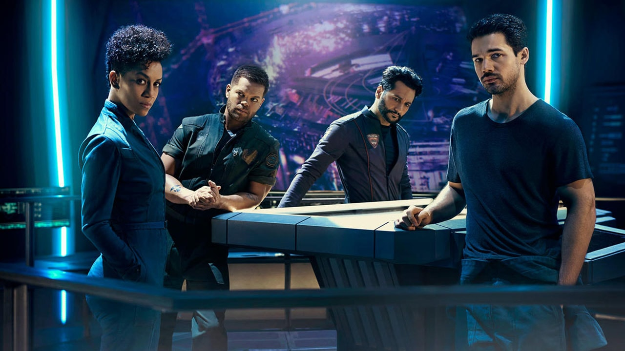 the expanse season 2 The Expanse Rocinante crew