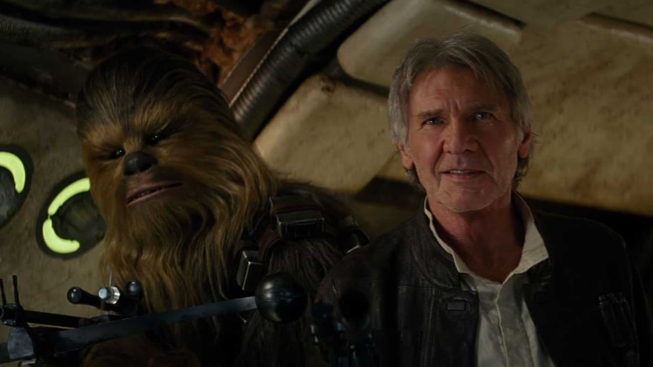 the force awakens chewbacca han solo Star Wars The Force Awakens Chewbacca Han Solo