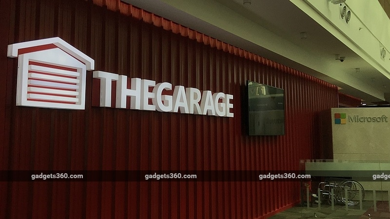 Microsoft garage now in india bengaluru expansion planned for Garage expansion ideas