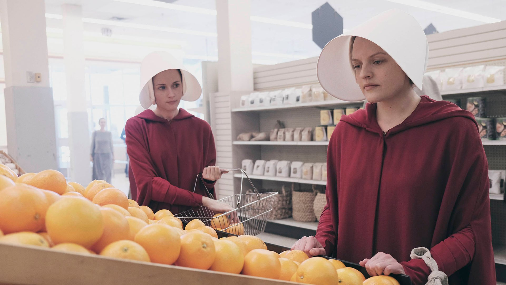 the handmaids tale review ofglen offred The Handmaids Tale Hulu review Ofglen Offred