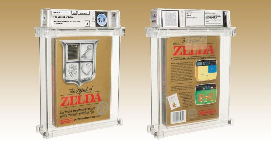 Rare 'The Legend of Zelda' 1987 Nintendo NES Version Up for Sale; Bid Reaches $110,000 (And Rising)