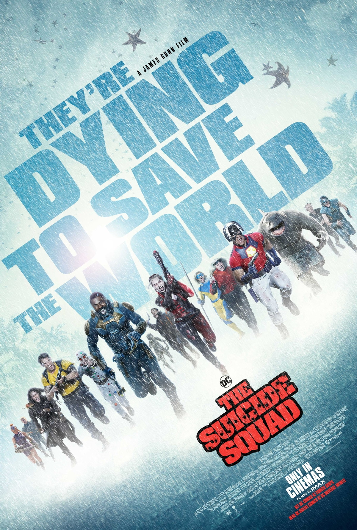 the suicide squad poster the suicide squad