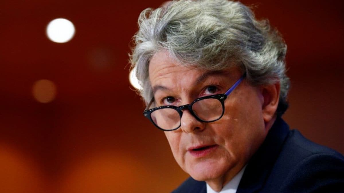 Tech Giants May Face Fines or Be Forced to Break Up if They Breach New Rules: EU Digital Chief Thierry Breton