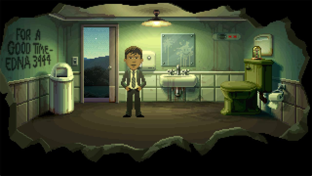 thimbleweed park review reyes Thimbleweed Park review Agent Reyes