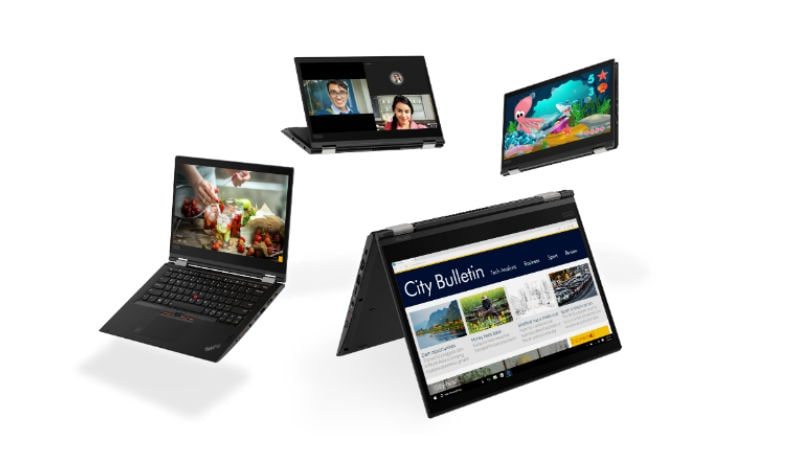 Lenovo Unveils New ThinkPad Laptops With USB Type-C Power Adapters, 8th-Gen Intel Core Processors