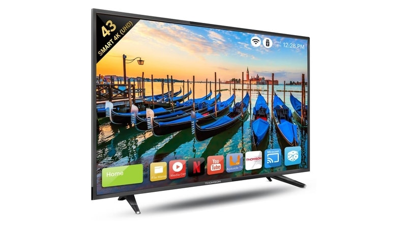 835610436ba Thomson Launches 3 Smart TV Models in India  Price