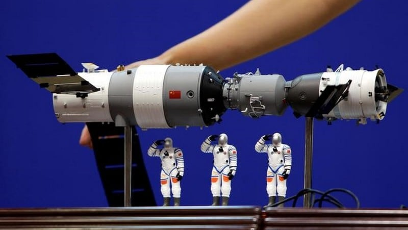 China's Tiangong Space Lab Mostly Burns Up on Re-Entry in South Pacific