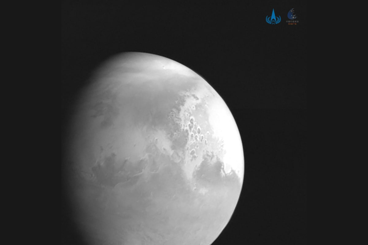 China's Unmanned Tianwen-1 Spacecraft Successfully Enters Mars Orbit