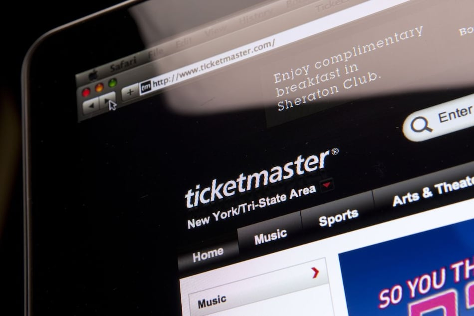 Ticketmaster to Pay $10-Million Fine Over Hacking Charges