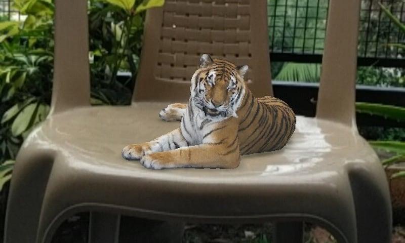 tiger holomix holo ar