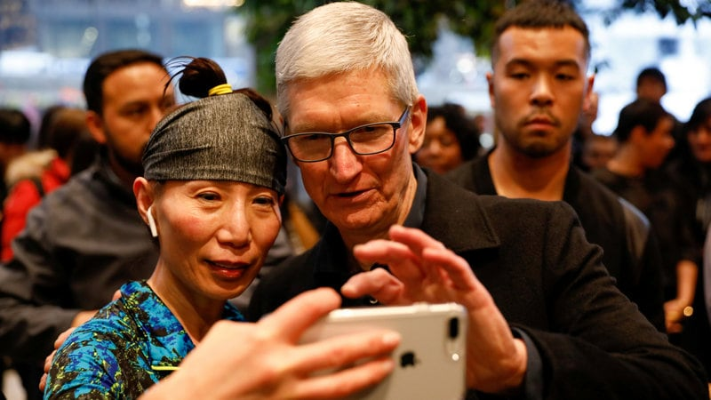 Apple CEO Calls $1 Trillion Value a 'Milestone' but Not a Focus