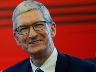 Apple CEO Tim Cook Visits Chinese Bike-Sharing Startup Ofo