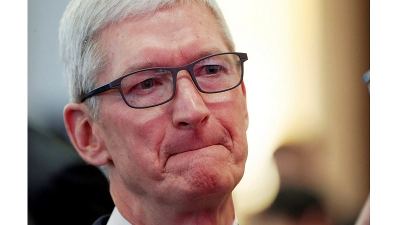 Apple CEO Tim Cook calls for more regulations on data privacy