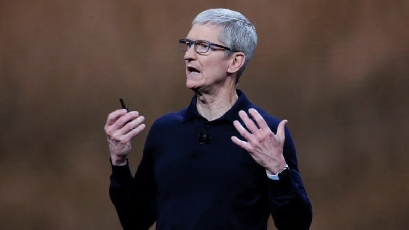 Apple Being Exempted From US-China Tariff War Shows Tim Cook's Political Sway